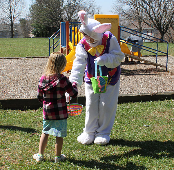 Brimfield Easter Bunny